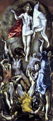 La Résurrection, par El Greco