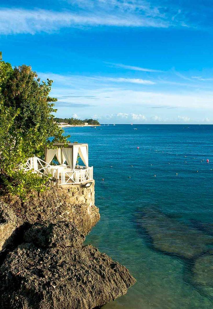 A Cliff Top Gazebo At Cove Spring House Barbados