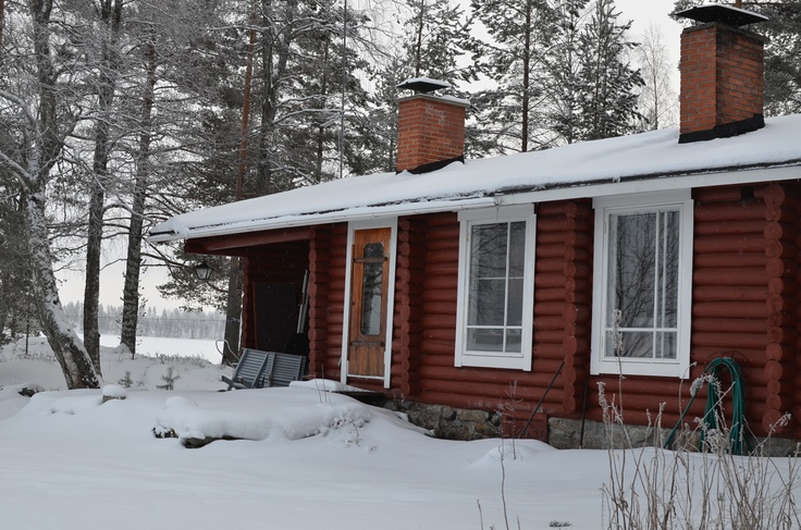 Kainiemi Old Cottage winter 2013