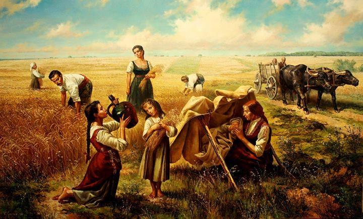 Harvest, Bulgarian Artist Vasil Goranov