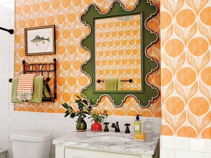 Who Says You Cant Decorate A Room With Orange
