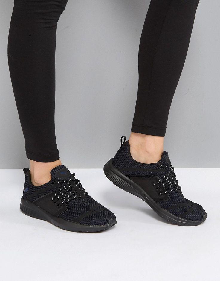 Puma Pulse Ignite Ex Sneakers In Black - Black