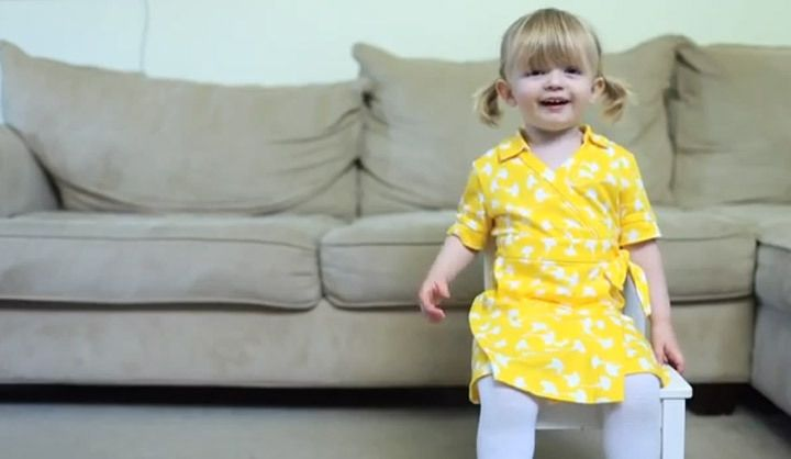 WATCH: Toddler's birthday message for mom goes viral
