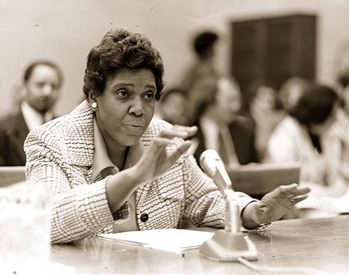 Barbara Jordan - A leader of the Civil Rights movement. She became the first African American elected to the Texas Senate after Reconstruction and the first southern African American female elected to the U.S. House of Representatives.