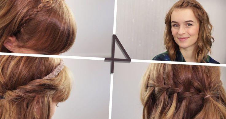 Frisuren mittellanges haar flechten – stylehaare.info/…. #TRENDS2017 #frisuren…