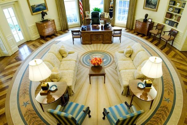 A look inside the White House - Photos - 2 of 49 - POLITICO.com West Wing first floor - Oval Office