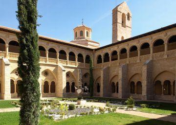 Monasterio de Valbuena, baños termales junto a un claustro del siglo XIII