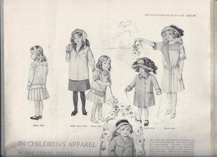 70 best Historical Childrenswear 1910-1919 images on Pinterest ...