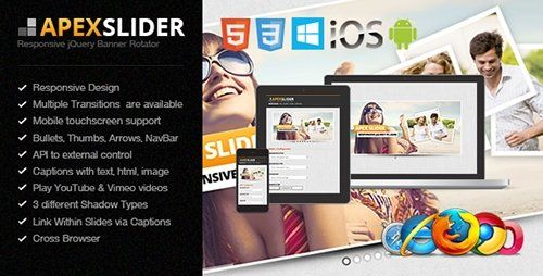 CodeGrape - Apex Slider Responsive jQuery Plugin (Update: 11 August 16)