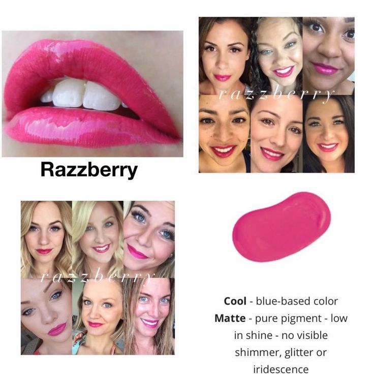 Razzberry LipSense.  Kiss-proof, waterproof, smudge-proof lipstick that last up to 18 hours.  Vegan and hydrating.  Order here.