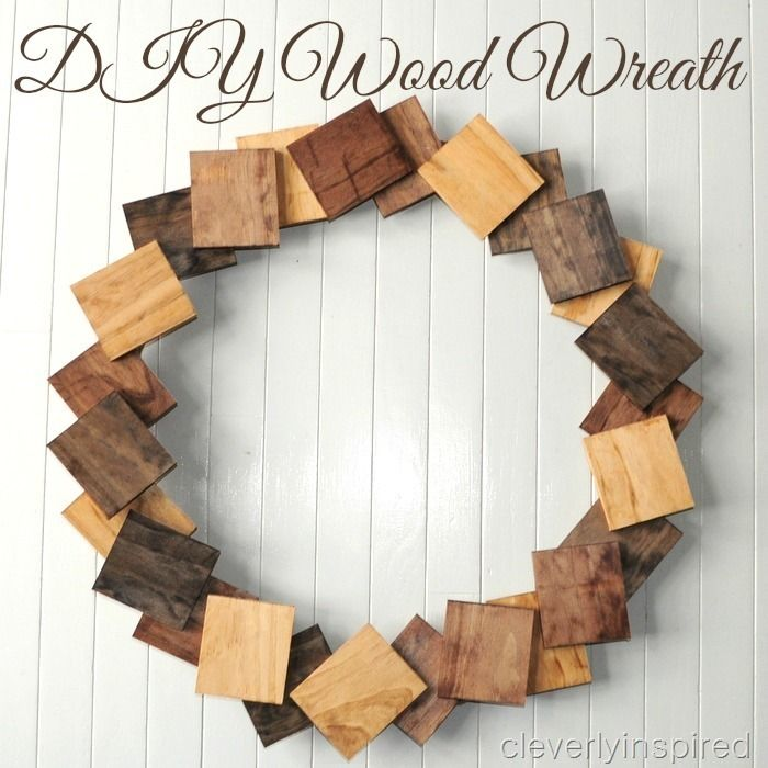 DIY Wood Wreath