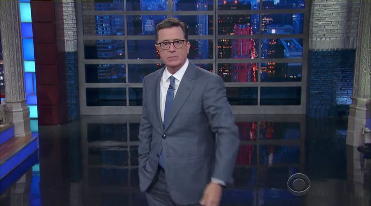 Stephen Colbert Says Trump Attacked Boy Scouts Belief in Our Democracy