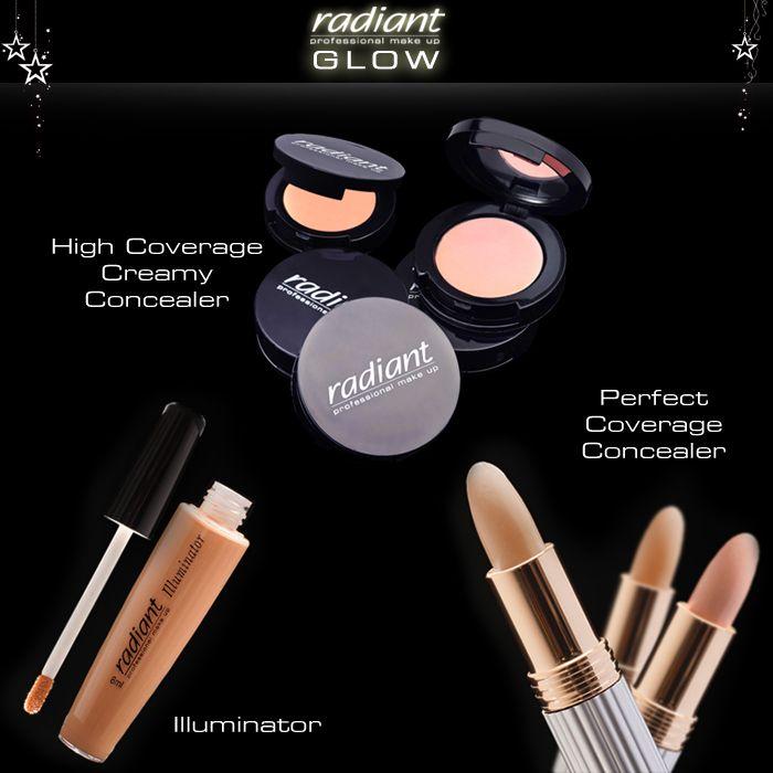 Ξενυχτήστε άφοβα και χορέψτε όλο το βράδυ! Το μυστικό σας όπλο; To #concealer σας! #Radiant #Professional #Makeup