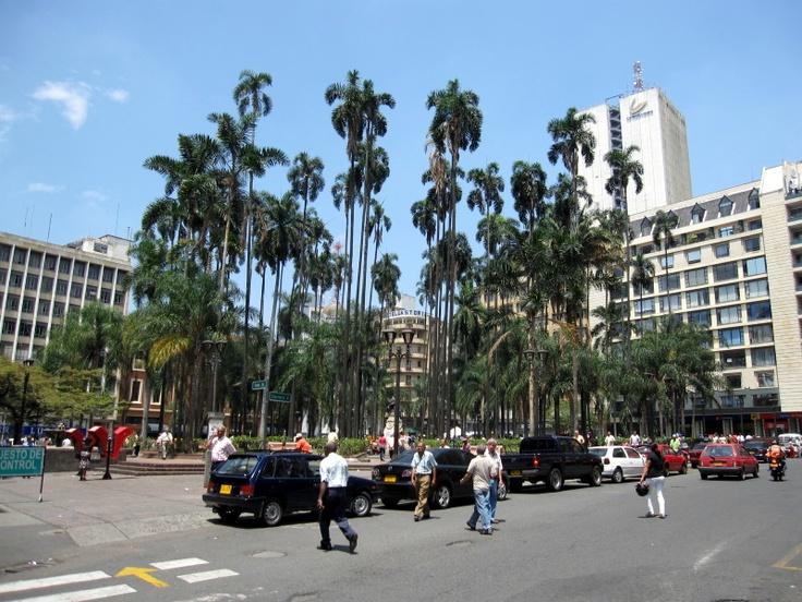 Plaza Caicedo, en un dia normal de trabajo #Cali #Colombia