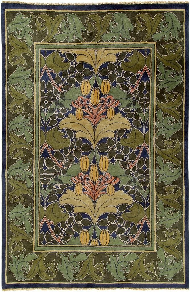 43 best arts and crafts rugs images on pinterest for Arts and crafts style rug