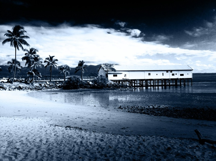 Port Douglas, We were married on this wharf