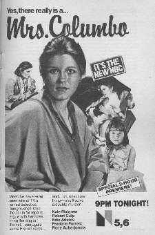 """Mrs. Columbo"" starring Kate Mulgrew"
