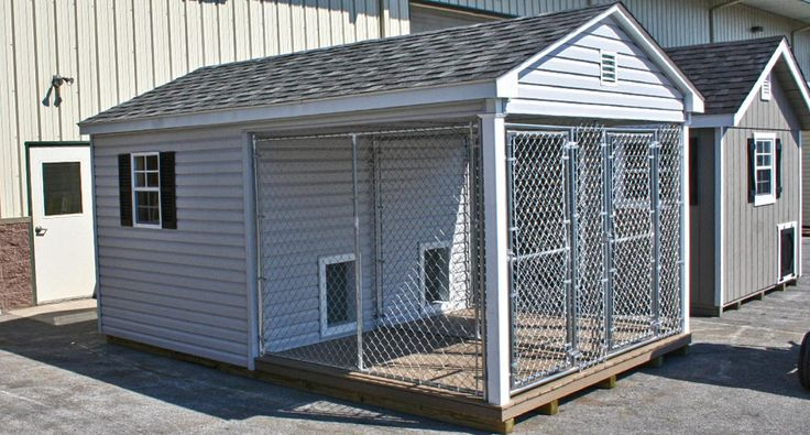 11 best dog kennels images on pinterest dog kennels for Dog kennel in garage ideas