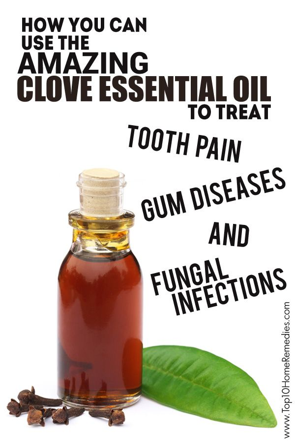 How You Can Use the Amazing #Clove #Essential #Oil to Treat Tooth Pain, Gum Diseases and Fungal Infections