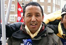 Apa Sherpa, Nepalese Sherpa mountaineer, 21 ascents of Mount Everest, and Utah resident - Wikipedia