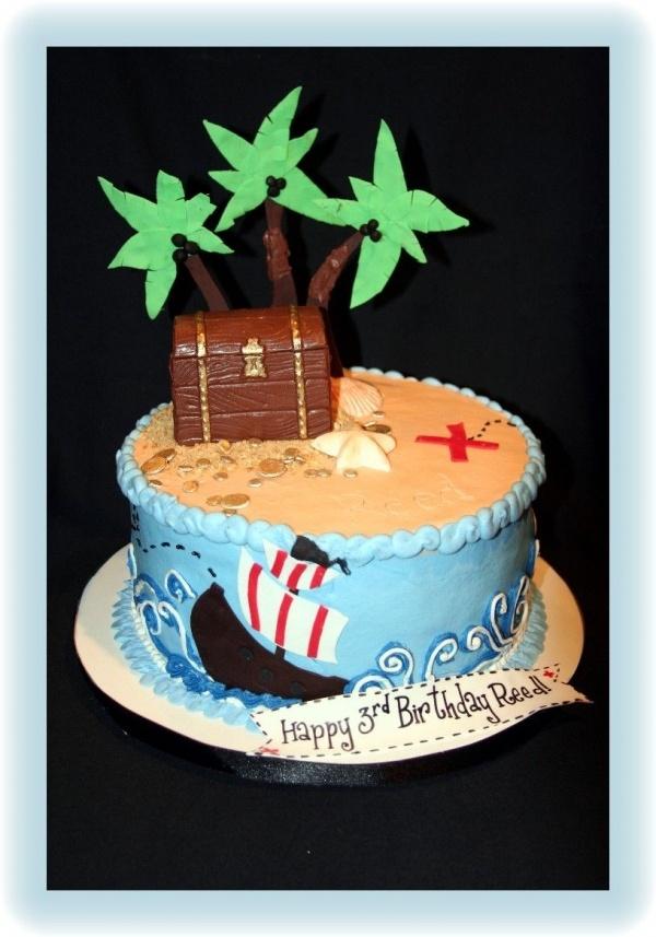 Pirate cake idea 2