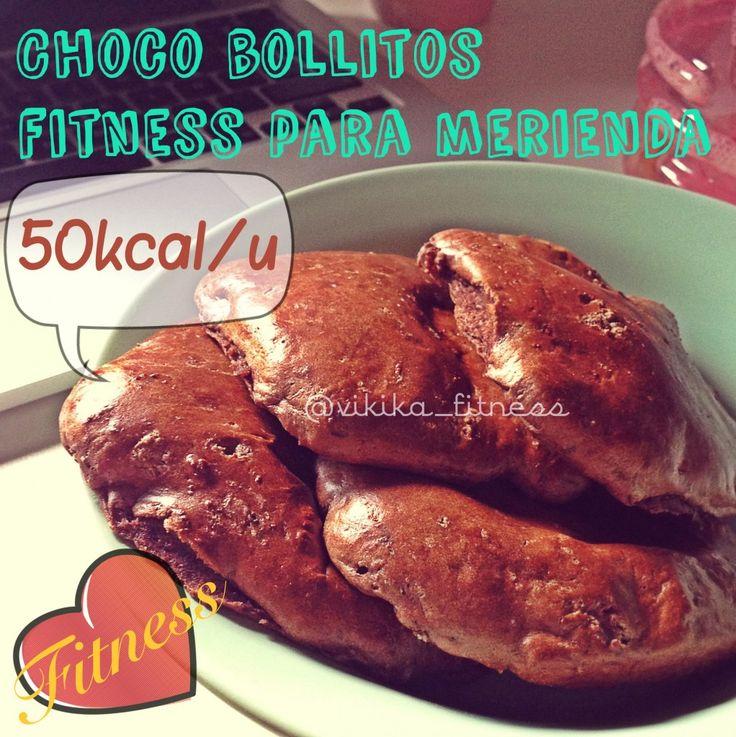 RECETA FITNESS/ Choco bollos fitness protéicos sin hidratos