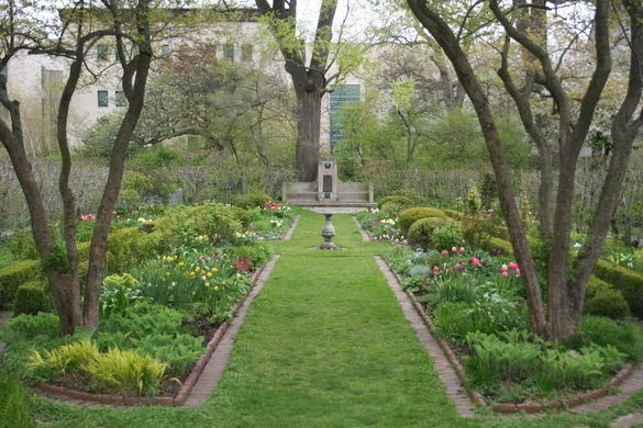 Northwestern University Shakespeare Garden Urban Garden