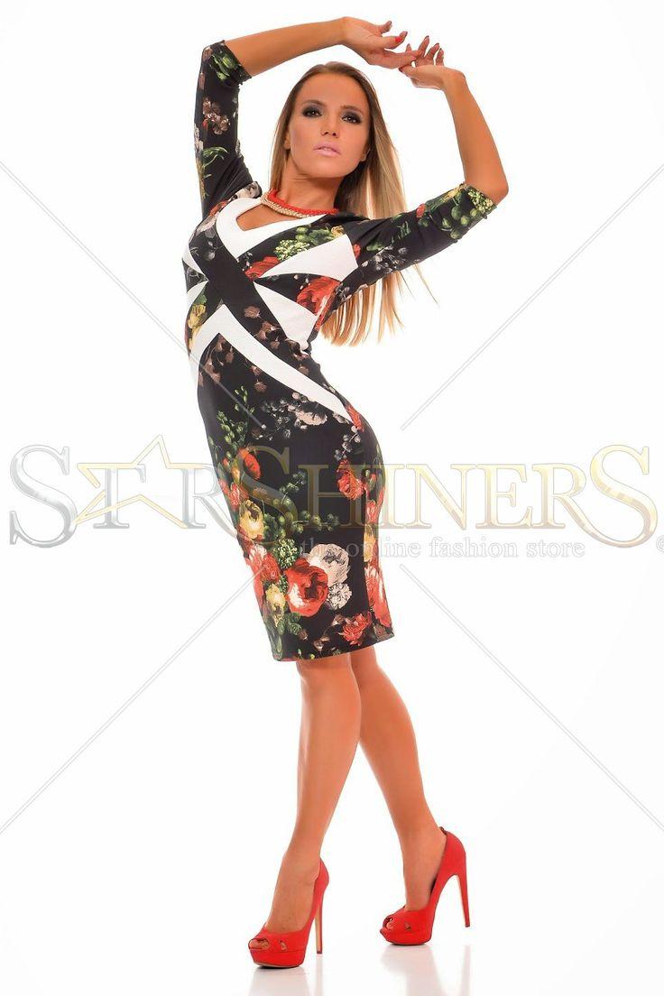 MissQ Nature Free Black Dress