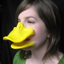 Latex Duck Bill- for the duck mobile