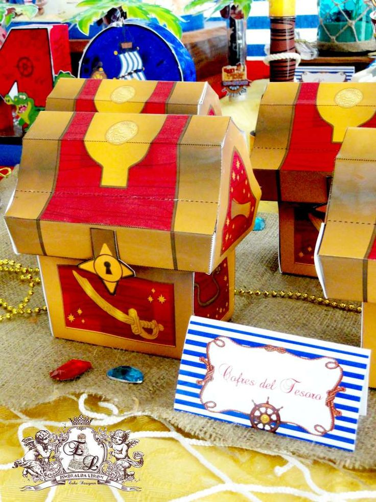 Jake and Neverland Pirates Birthday Party Ideas | Photo 2 of 14 | Catch My Party