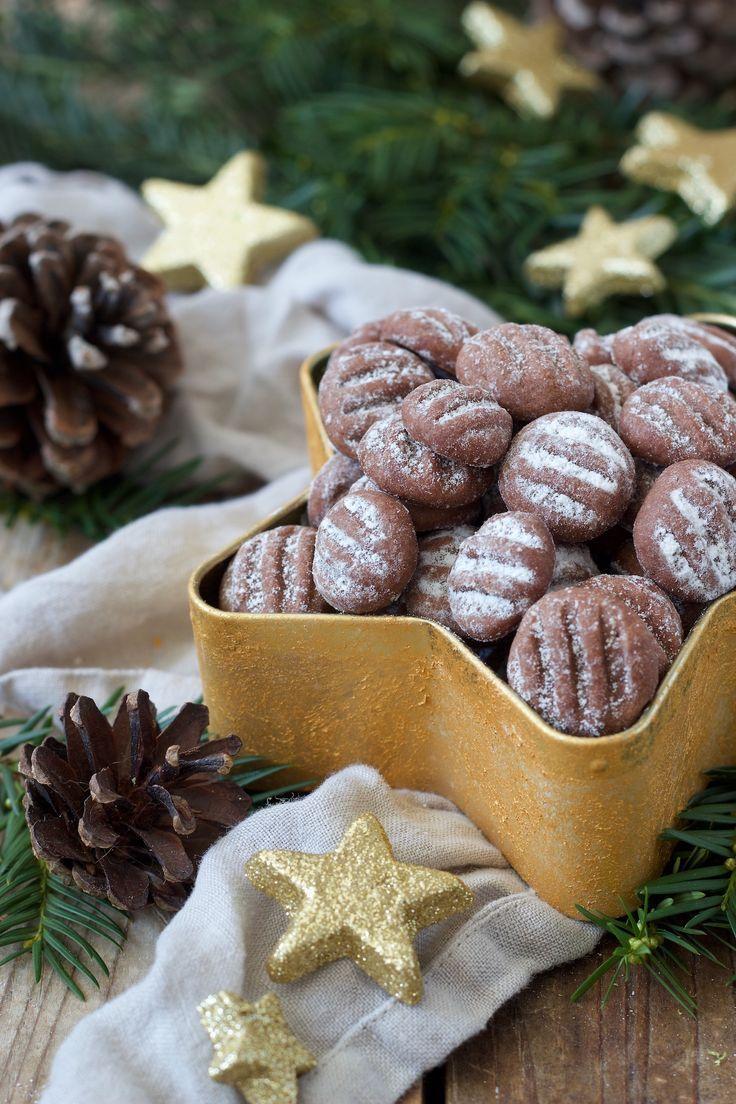 Weihnachtskekse Leicht.Schoko Puddingplätzchen