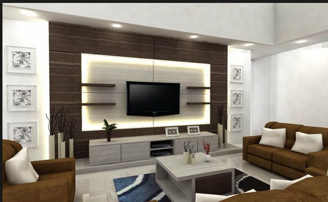 Modern tv cabinets designs 2018 2019 for living room - Small space living room designs philippines ...