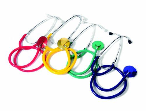 American Educational 4 Piece Stethoscope Set, 2015 Amazon Top Rated Measurement Kits #BISS