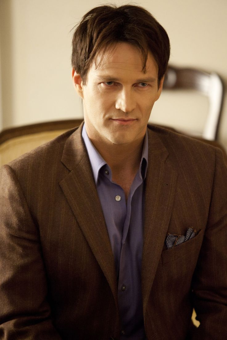 Bill from True Blood.  (Stephen Moyer is just... too hot for words)
