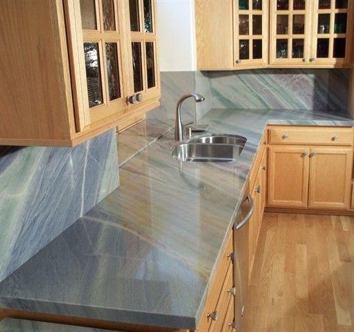 Azul Imperial Quartzite Countertops