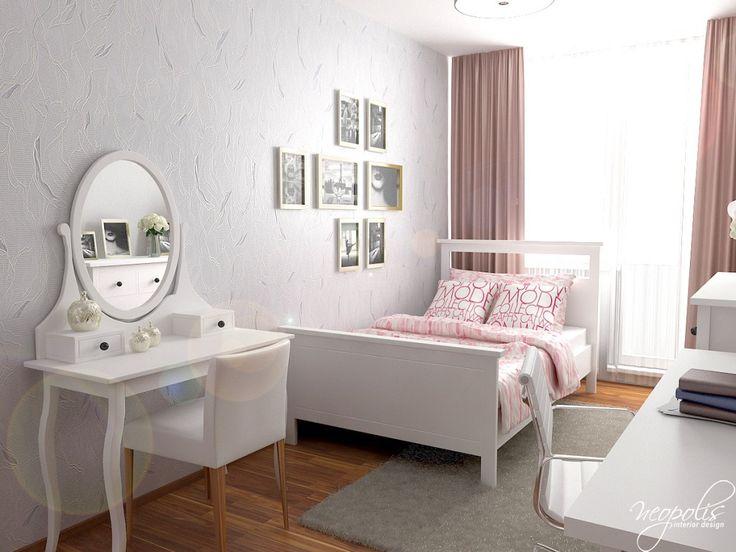 Dievčenská izba s toaletným stolíkom