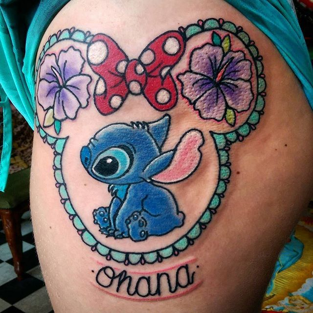 🌺 ohana 🌺 Thanks @jess91_12 for sitting so well, loved doing this one! 🌌 (Hard to get a photo due to wrapping slightly!)