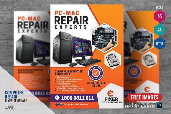 Computer Repair Services Flyer Computer Repair Services
