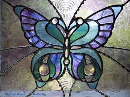 FREE BUTTERFLY STAINED GLASS PATTERNS | Browse Patterns