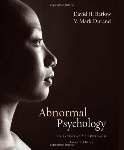 I'm selling ebook -- Abnormal Psychology: An Integrative Approach by David H. Barlow and V. Mark Durand
