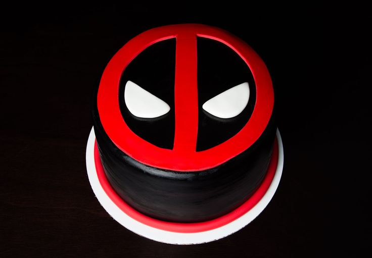 DEADPOOL Cake by KayleyMackay.deviantart.com on @deviantART