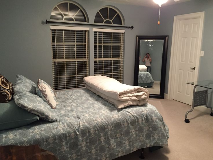 Tallahassee location medium sized bedroom with a large for Long mirrors for bedroom
