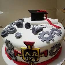 Resultado de imagen de torta de grado de ingeniero mecanico en fondant