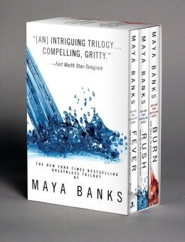 Maya Banks Breathless Trilogy Boxed Set... Just like 50 Shades of Grey, but better! Don't know if that is true but I'm posting it for all you ladies who loved those books