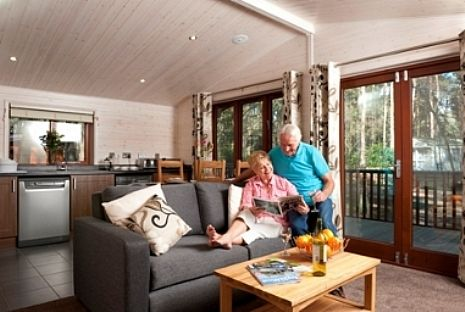 Woodland Lodge lounge
