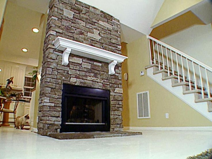 Stacked Stone Fireplace Designs best 25+ corner stone fireplace ideas on pinterest | stone