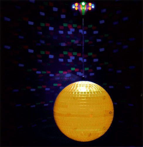 """Świecąca kula lustrzana 20cm/8"""" z napędem LED - DISCO2-20LED   Oświetlenie dyskotekowe \ Kule lustrzane i akcesoria \ Zestawy z kulami lustrzanymi   Sprzet-Dyskotekowy.pl - największy i najtańszy sklep internetowy z oświetleniem i nagłośnieniem w Polsce"""