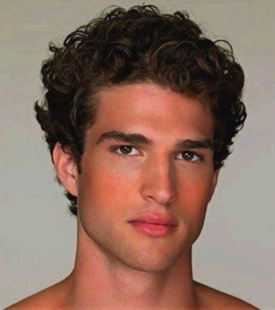 Dicke lockige haare frisuren manner