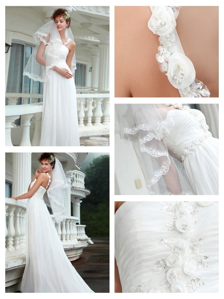 One Shoulder Mermaid Wedding Dresses