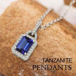 Stunning and Stylish design of Tanzanite Pendant by toptanzanite.com.